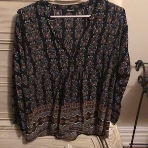 Madewell blouse in sz S.
